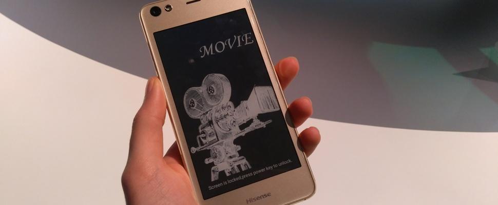 CES 2017: Hisense A2 is smartphone met twee schermen