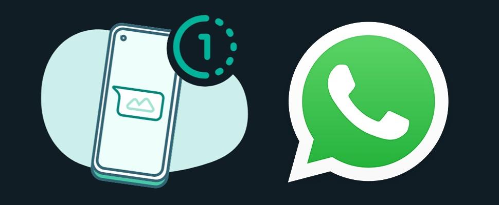 WhatsApp-foto's versturen die maar eenmalig te bekijken zijn