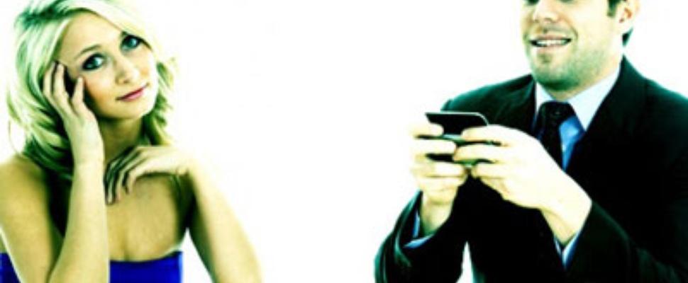 Smartphone inleveren tijdens diner voor 5% korting