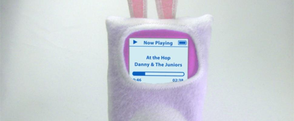 De iPod is het haasje met Pasen