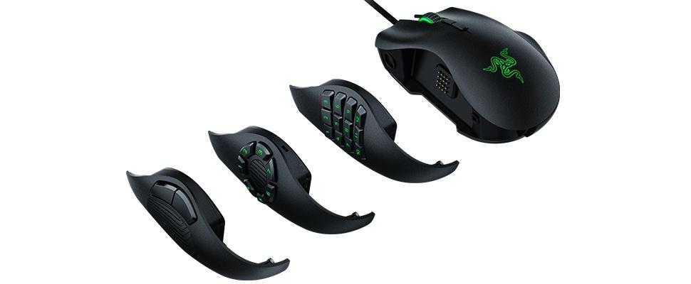 Naga Trinity-muis voor ieder soort gamer