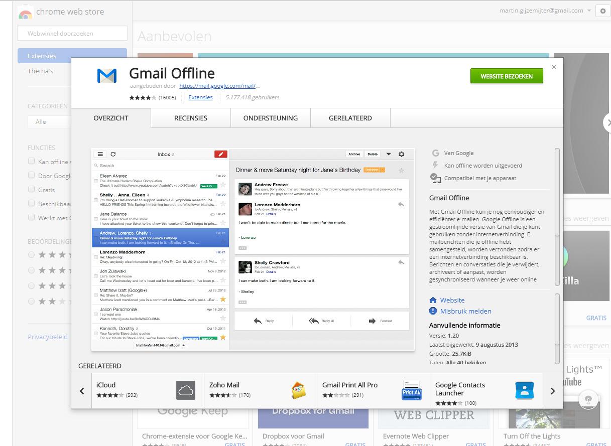 Je Chromebook offline gebruiken | Computer Idee